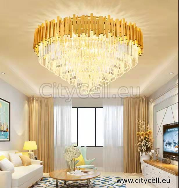 led light Crystal Chandelier spot