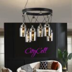 LED Light Crystal Spot chandelier Classic Design