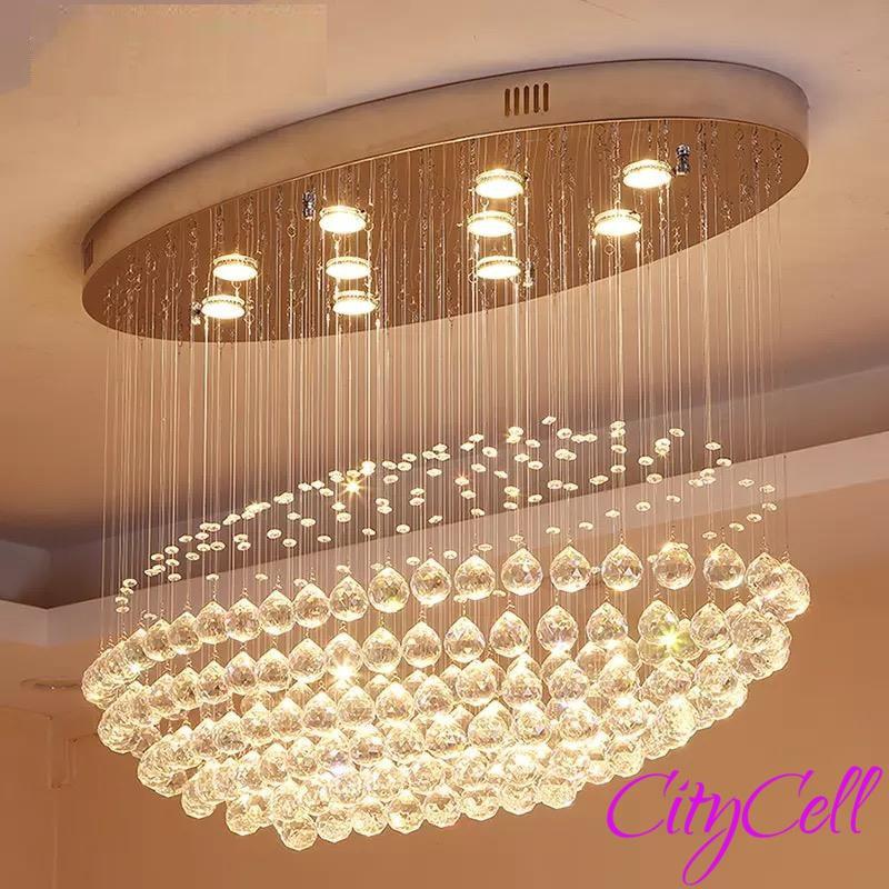 LED Light Crystal Spot chandelier Classic Design