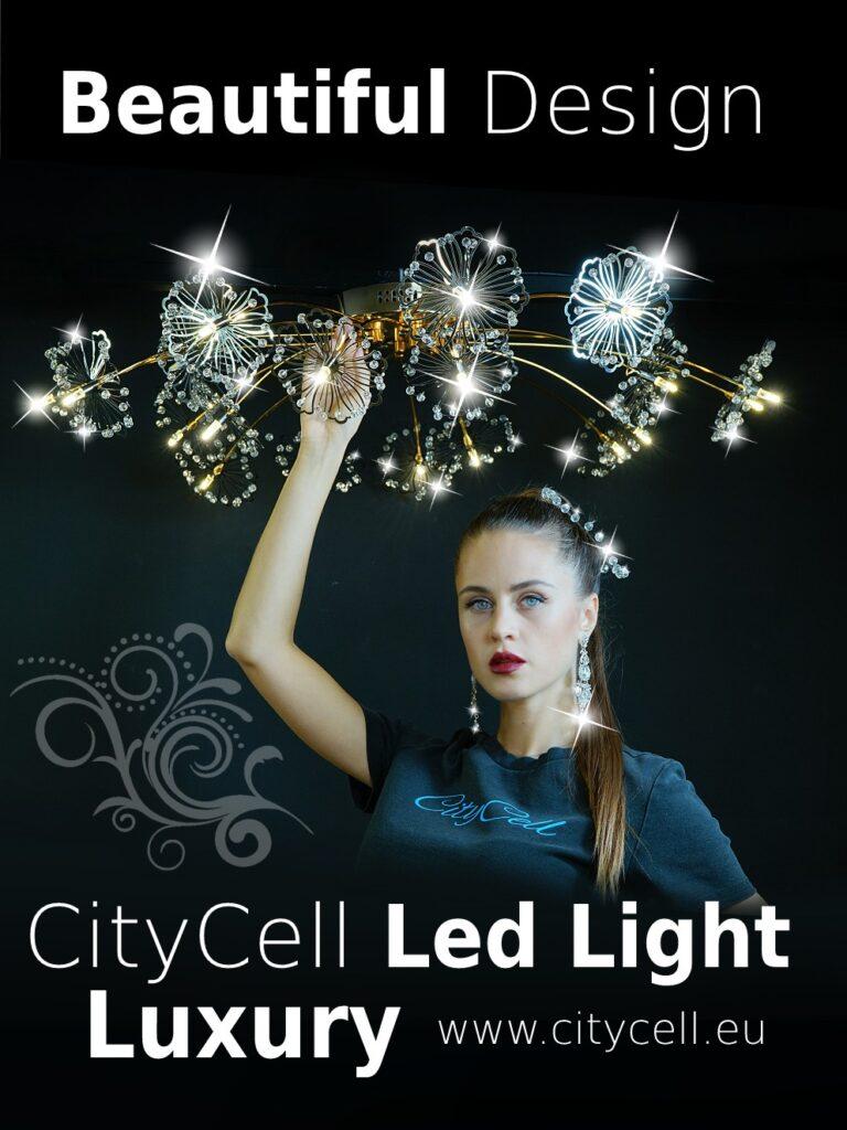 citycell led light crystal limassol